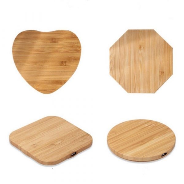 Portable Wireless Wooden Charging Pad for QI Enabled Devices_2