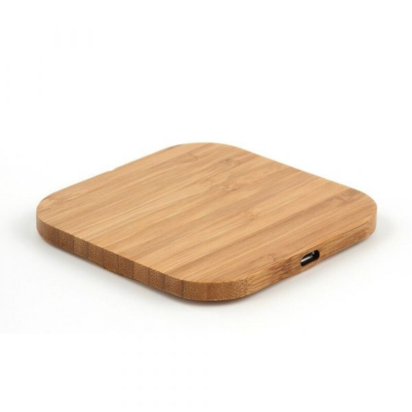 Portable Wireless Wooden Charging Pad for QI Enabled Devices_4