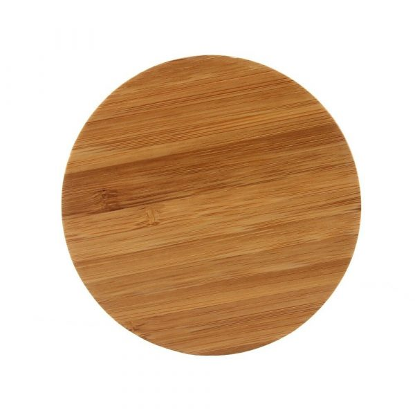 Portable Wireless Wooden Charging Pad for QI Enabled Devices_7