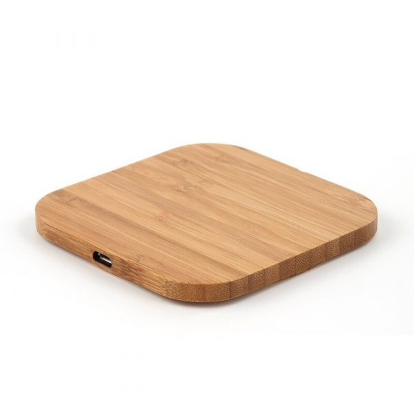 Portable Wireless Wooden Charging Pad for QI Enabled Devices_9