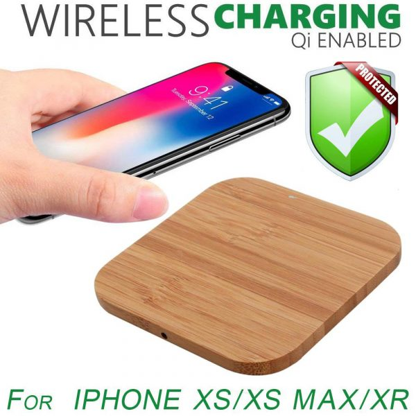 Portable Wireless Wooden Charging Pad for QI Enabled Devices_10