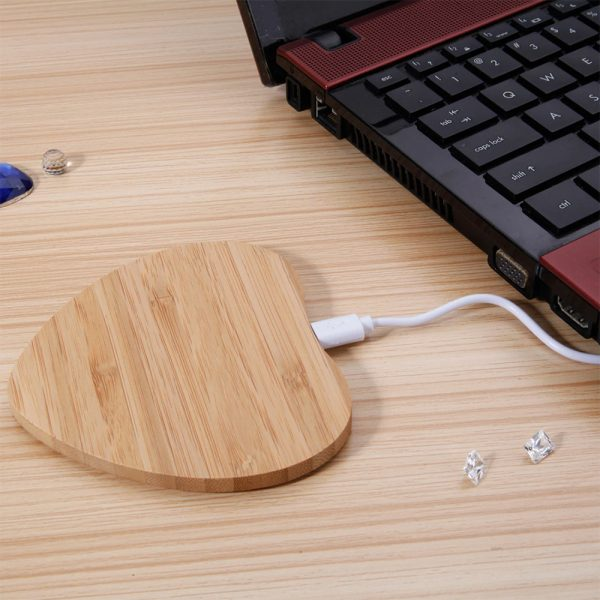 Portable Wireless Wooden Charging Pad for QI Enabled Devices_15