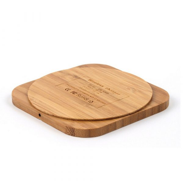 Portable Wireless Wooden Charging Pad for QI Enabled Devices_17
