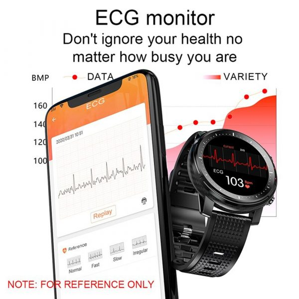 L15 Full Touch Display Smart Watch BT Control Fitness Watch_12