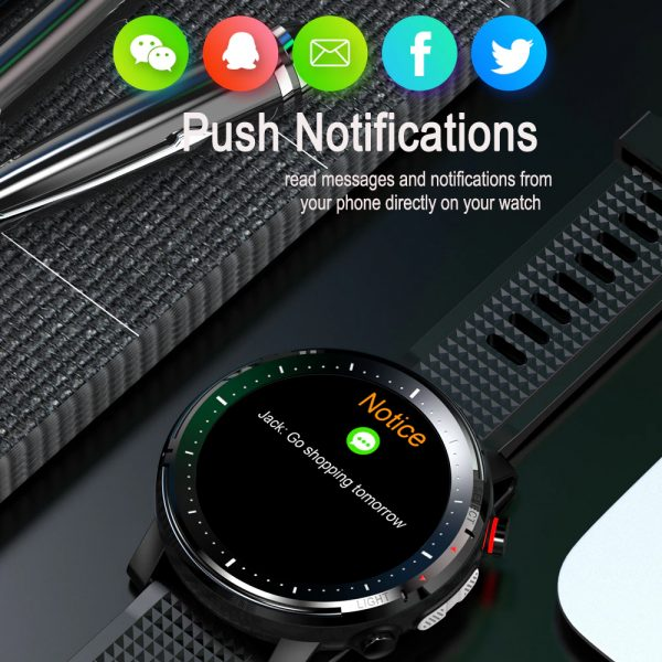 L15 Full Touch Display Smart Watch BT Control Fitness Watch_13