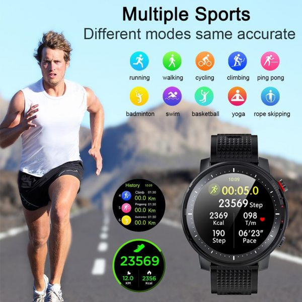 L15 Full Touch Display Smart Watch BT Control Fitness Watch_14
