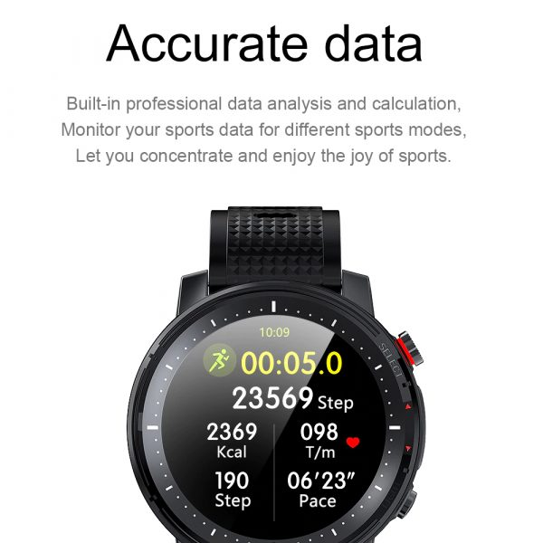 L15 Full Touch Display Smart Watch BT Control Fitness Watch_17