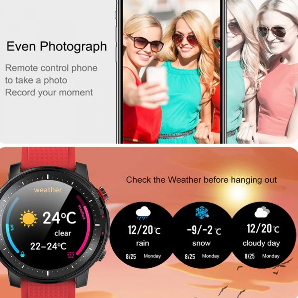 L15 Full Touch Display Smart Watch BT Control Fitness Watch_19