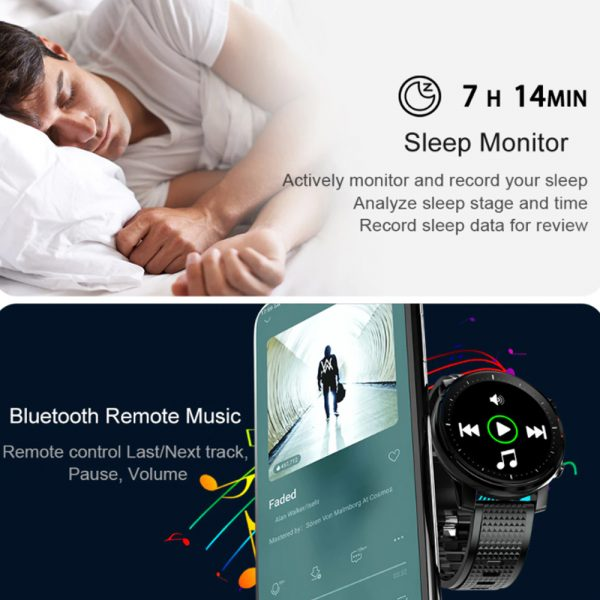 L15 Full Touch Display Smart Watch BT Control Fitness Watch_20
