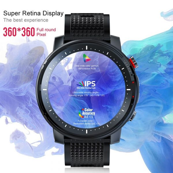 L15 Full Touch Display Smart Watch BT Control Fitness Watch_5