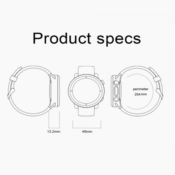 L15 Full Touch Display Smart Watch BT Control Fitness Watch_21