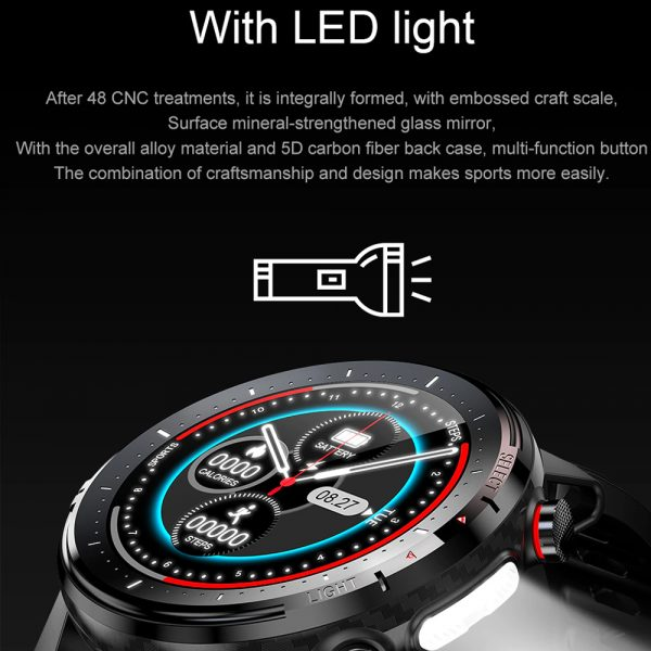 L15 Full Touch Display Smart Watch BT Control Fitness Watch_6