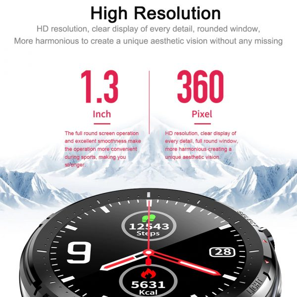 L15 Full Touch Display Smart Watch BT Control Fitness Watch_7