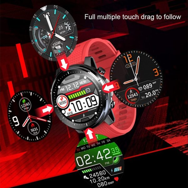 L15 Full Touch Display Smart Watch BT Control Fitness Watch_8