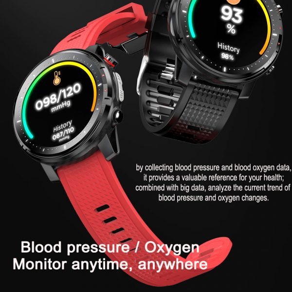 L15 Full Touch Display Smart Watch BT Control Fitness Watch_11