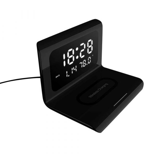 2-in-1 Multifunctional Digital Clock and Fast Wireless Charger_1
