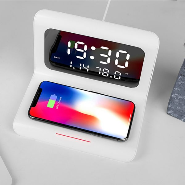 2-in-1 Multifunctional Digital Clock and Fast Wireless Charger_3