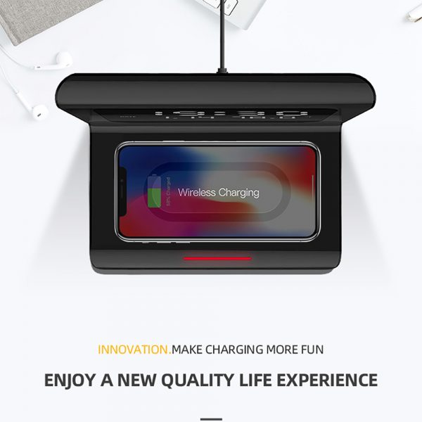 2-in-1 Multifunctional Digital Clock and Fast Wireless Charger_5