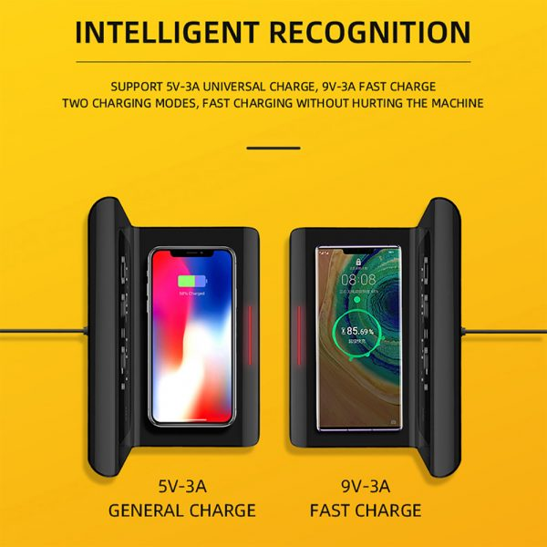 2-in-1 Multifunctional Digital Clock and Fast Wireless Charger_6
