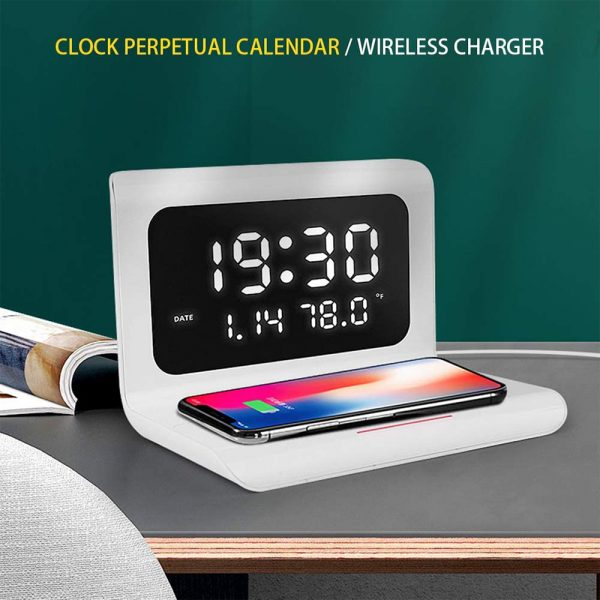 2-in-1 Multifunctional Digital Clock and Fast Wireless Charger_7
