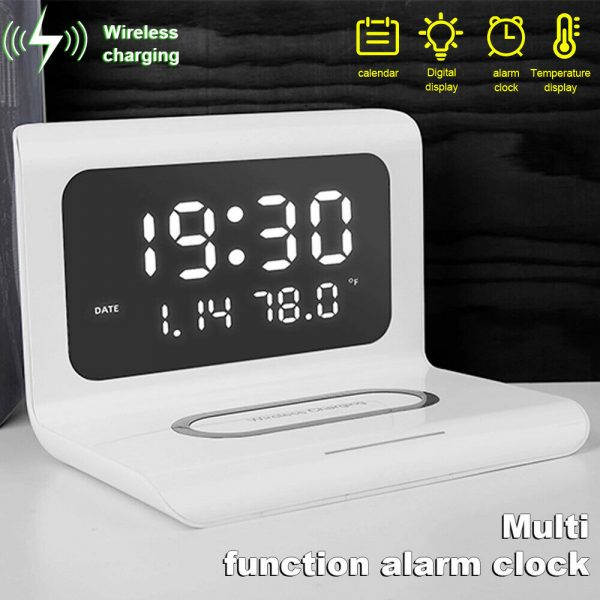 2-in-1 Multifunctional Digital Clock and Fast Wireless Charger_11