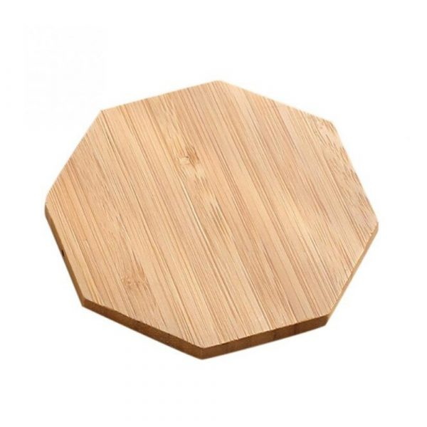 Portable Wireless Wooden Charging Pad for QI Enabled Devices_5