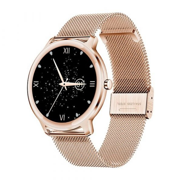Full Touch Screen iOS Android Support Smart Watch for Women_1