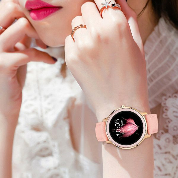 Full Touch Screen iOS Android Support Smart Watch for Women_4