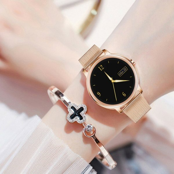 Full Touch Screen iOS Android Support Smart Watch for Women_5