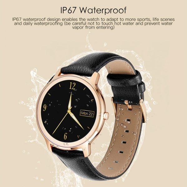 Full Touch Screen iOS Android Support Smart Watch for Women_12