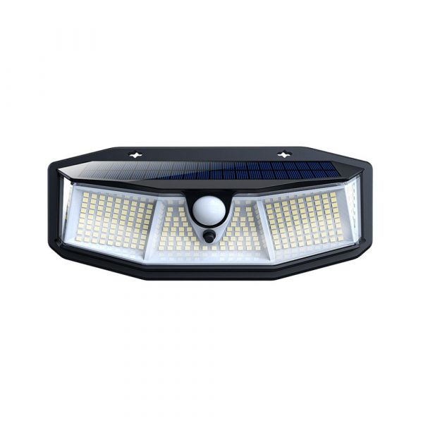 308 LED Human Body Induction Solar Powered Outdoor Lamp_0