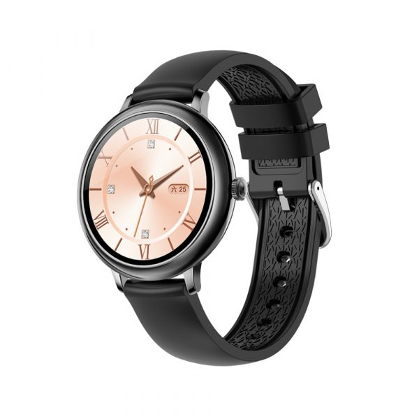 Full Touch Screen iOS Android Support Smart Watch for Women_3