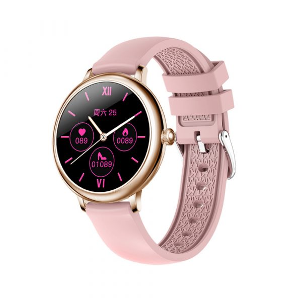 Full Touch Screen iOS Android Support Smart Watch for Women_2