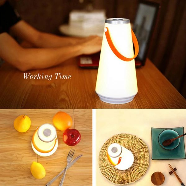 Portable Rechargeable Dimmable LED Lantern with 3 Modes_3