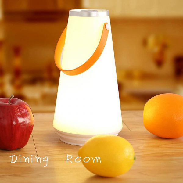 Portable Rechargeable Dimmable LED Lantern with 3 Modes_9