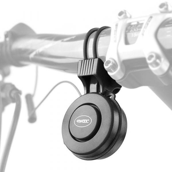 USB Rechargeable Loud Electronic Bicycle Bell Horn_3