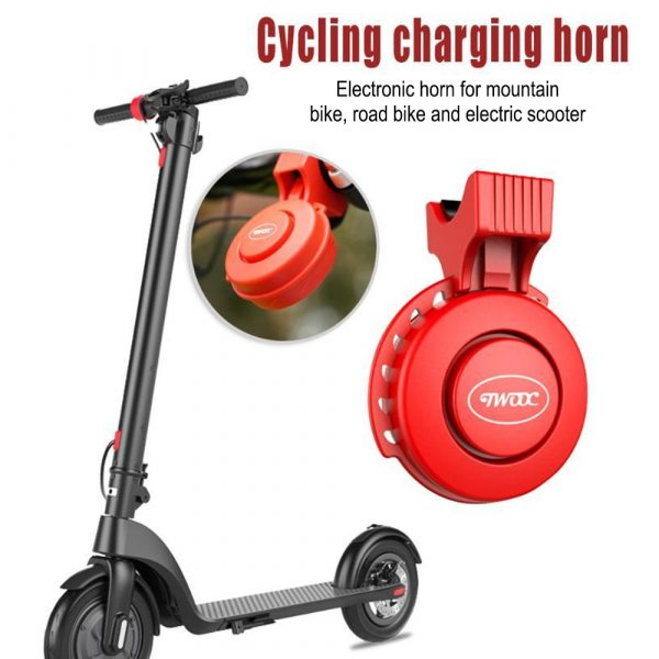 USB Rechargeable Loud Electronic Bicycle Bell Horn_8