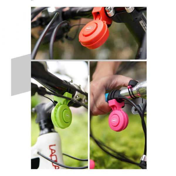 USB Rechargeable Loud Electronic Bicycle Bell Horn_16