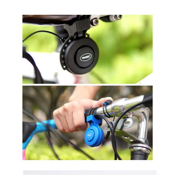 USB Rechargeable Loud Electronic Bicycle Bell Horn_17