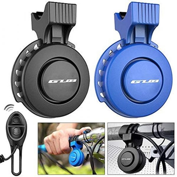 USB Rechargeable Loud Electronic Bicycle Bell Horn_14