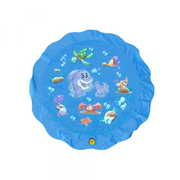 Durable Outdoor Inflatable Sprinkler Water Mat for Kids_1