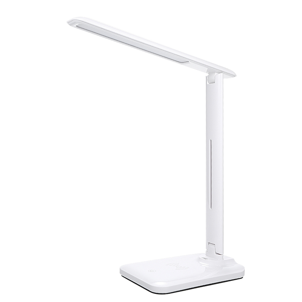 Multifunctional LED Desk Lamp with 5W Wireless Charging Function_0