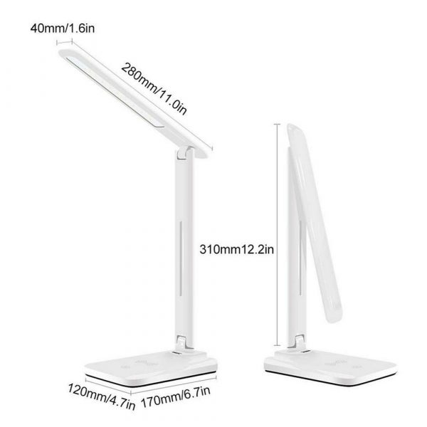 Multifunctional LED Desk Lamp with 5W Wireless Charging Function_5