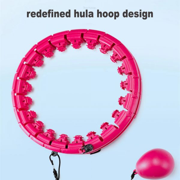 Fitness Hoop with Massage Rings with Detachable Segments_5
