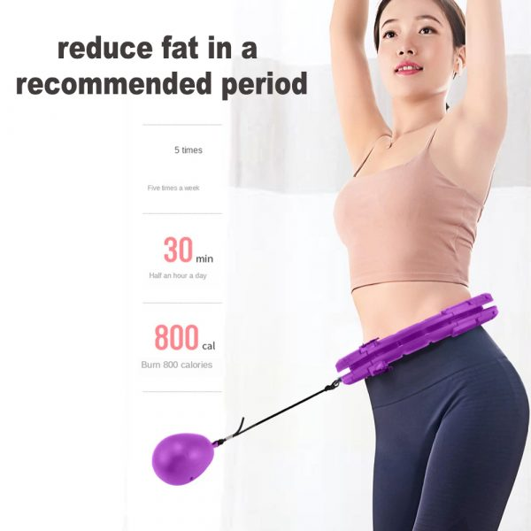 Fitness Hoop with Massage Rings with Detachable Segments_6
