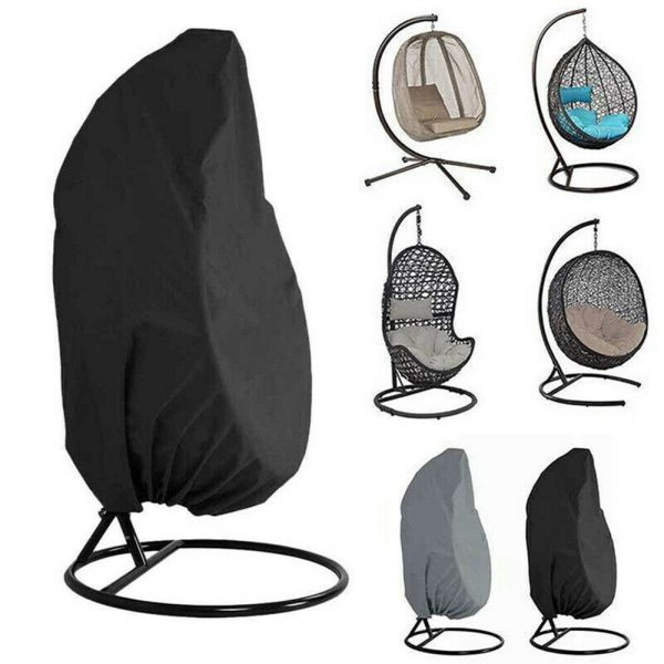 Polyester Fabric Hanging Rattan Egg Chair Protection Cover_2