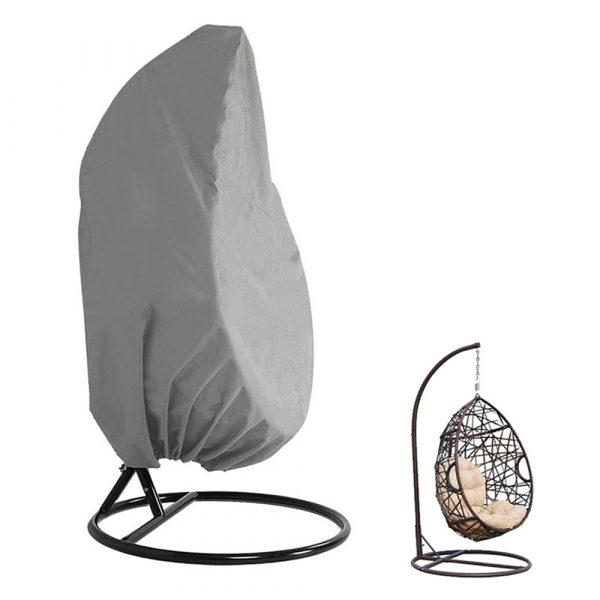 Polyester Fabric Hanging Rattan Egg Chair Protection Cover_3