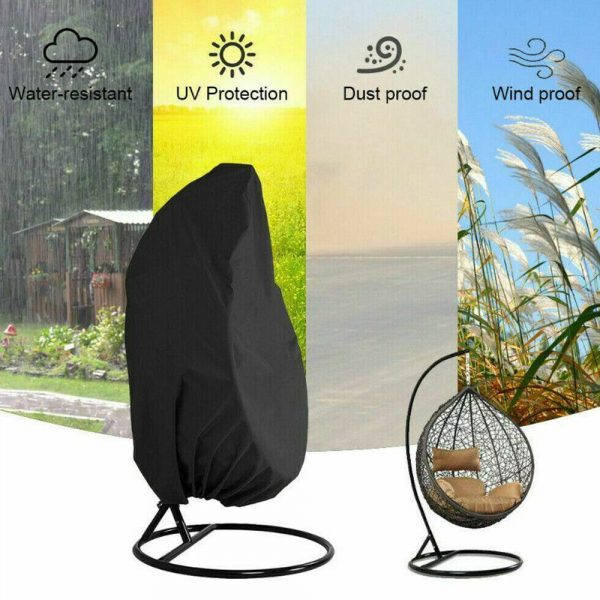 Polyester Fabric Hanging Rattan Egg Chair Protection Cover_6