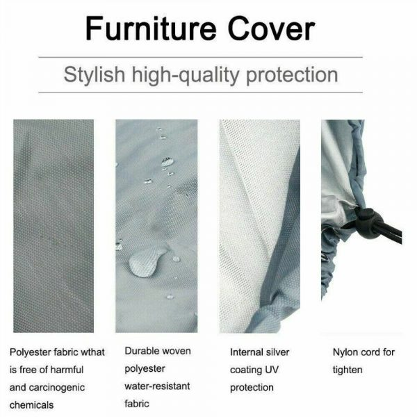 Polyester Fabric Hanging Rattan Egg Chair Protection Cover_7