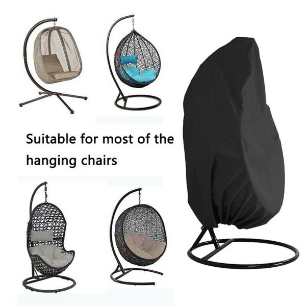 Polyester Fabric Hanging Rattan Egg Chair Protection Cover_8